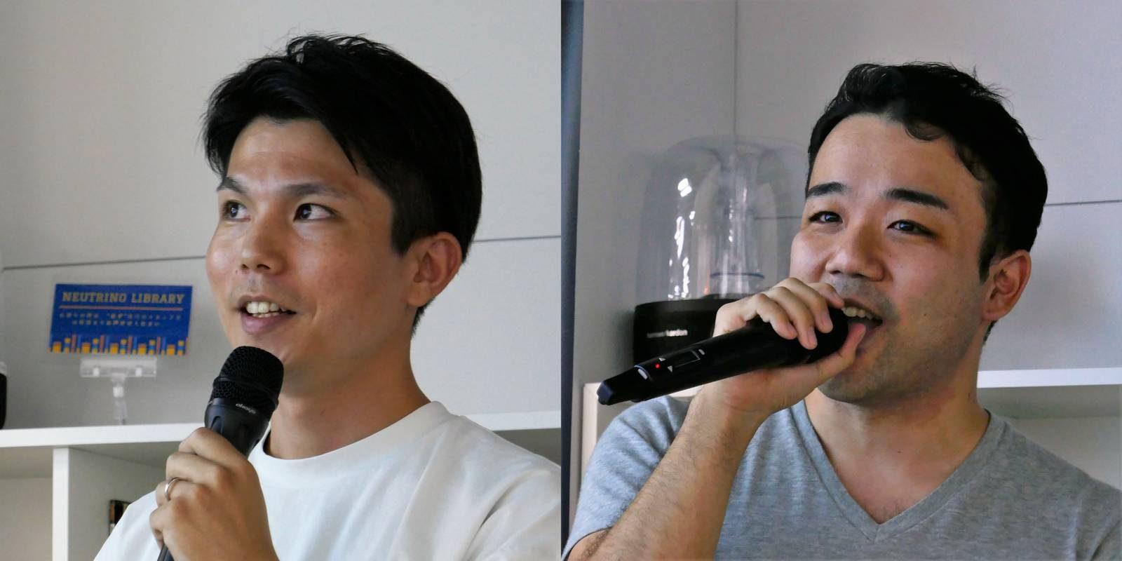 (左)成田博之氏 (右)徳地佑悟氏 ともに株式会社メタップスアルファ