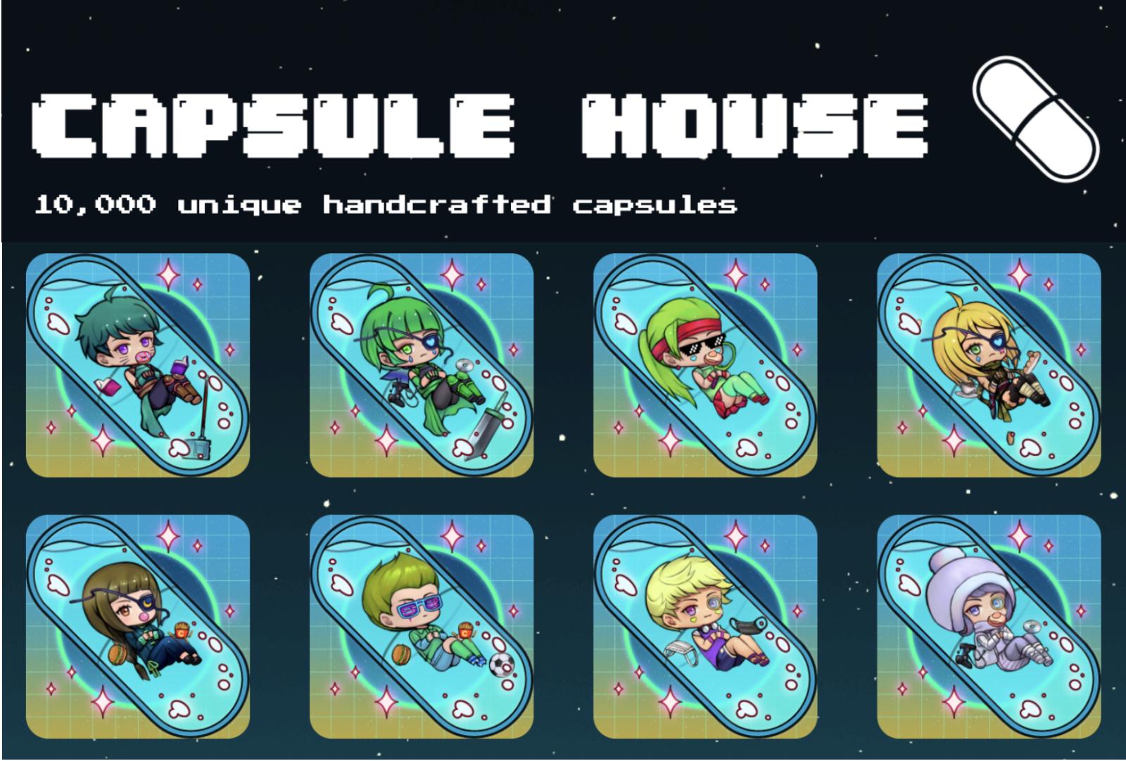 """販売開始からわずか1時間で3,200万円を売り上げたNFT""""Capsule House"""""""